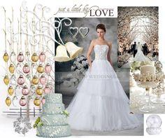 It's Christmas Wedding season - festive winter wonderland wedding ideas