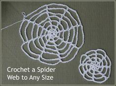 Crochet Spider Webs! – a free pattern