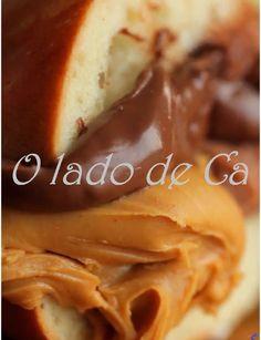 O Lado de Cá: Recheio de Nutella com Philadelphia
