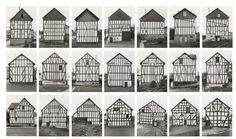 Framework Houses. Photographs byBernd and Hilla Becher.