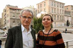 30 janvier: Muriel Garsson, directrice du Musée de l'archéologie Méditerranée et Bernard Latarjet se rencontrent au Pavillon M