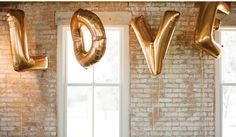 Love 40 Inch Giant Jumbo Letter Balloons Wedding Decoration - Wedding Look Wedding Balloon Decorations, Wedding Balloons, Reception Decorations, Event Decor, Wedding 2017, Wedding Trends, Wedding Ceremony, Wedding Ideas, Wedding Inspiration