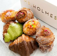Mr. Holmes Bakehouse is a bakery known for their cruffins. The hugely popular bakery started in San Francisco but recently expanded into Los Angeles