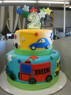 Transportation Cake 3