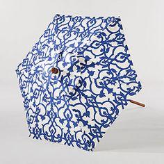 Limoge Timber Umbrella at Cost Plus World Market