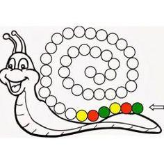 Imprimibles e Ideas! Preschool Worksheets, Toddler Activities, Learning Activities, Preschool Activities, Math For Kids, Crafts For Kids, Do A Dot, Frog Crafts, Kindergarten Math