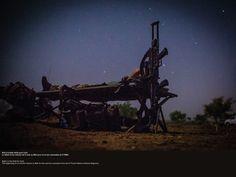 Nuit à la belle étoile au Mali. © CCH A. DUMOUTIER