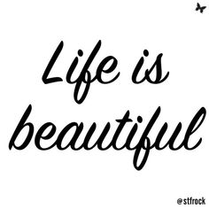 Remember this: life is beautiful #inspo #life #beautiful #reminder