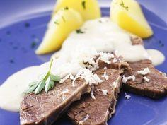 Tafelspitz mit Meerrettich ist ein Rezept mit frischen Zutaten aus der Kategorie Rind. Probieren Sie dieses und weitere Rezepte von EAT SMARTER!