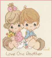 Lots of Precious Moments Designs--POL: Love One Another (PM49) by Gloria & Pat
