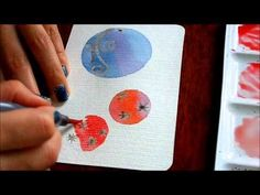 Christmas card watercolor - YouTube                                                                                                                                                                                 More