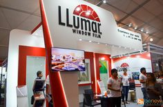 Llumar Exhibit Booth (Worldbex 2016) #tradeshow #exhibit #expo Window Film, Trade Show, Exhibit, Display, Inspiration, Design, Floor Space, Biblical Inspiration, Billboard
