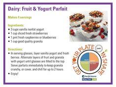 @Pat Smoker  Fruit and Yogurt Parfait recipe card