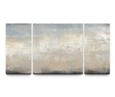 Shop for Studio 212 'Tidal Rush' Canvas x Triptych Textured Wall Art. Get free delivery On EVERYTHING* Overstock - Your Online Art Gallery Store! 3 Piece Painting, 3 Piece Wall Art, Painting Prints, Large Framed Wall Art, Metal Wall Art, Abstract Canvas Wall Art, Statement Wall, Triptych, Contemporary Paintings