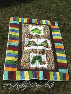 I've wanted to make an Eric Carle #quilt since I saw one in my local quilt shop. so pretty!!