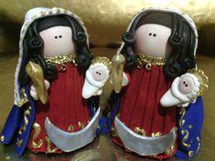 Virgen de la chiquinquira vestida