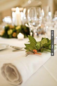 Neat - green, white, orange wedding table decor | CHECK OUT MORE GREAT GREEN WEDDING IDEAS AT WEDDINGPINS.NET | #weddings #greenwedding #green #thecolorgreen #events #forweddings #ilovegreen #emerald #spring #bright #pure #love #romance