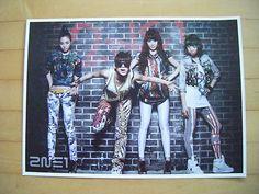 K-POP 2NE1 Member Poster 1EA NWT