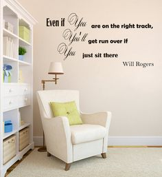 Wall Vinyl Decal Quote Sticker Home Decor Art by WisdomDecals