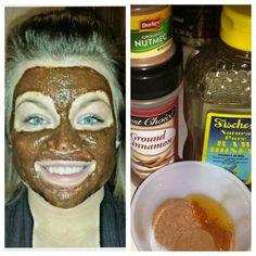 Konersmann Life: DIY Facial Eco Beauty, Hair Beauty, Facial Skin Care, Facial Diy, Beauty Hacks, Beauty Ideas, Beauty Tips, Diy Spa, Facial Scrubs