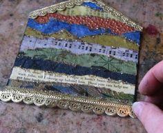 make a paper collage . . .
