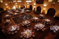 Hollywood Roosevelt Hotel- Wedding Reception