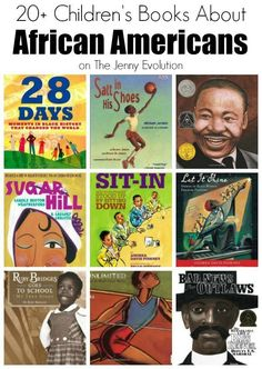 Non-Fiction Children Books About African Americans   The Jenny Evolution