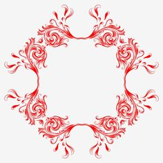 European Classical Pattern Border Red Decorative Material Design PNG and PSD Material Design, European Style, European Fashion, Border Design, Pattern Design, Wedding Background Images, Golden Pattern, Curtain Patterns, Banner Vector