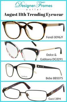 6b6009c41398e Designer Frames Outlet. See more. Fendi 0096 F. Dolce   Gabbana DG3291.  Bebe BB5075. Gucci 2894.