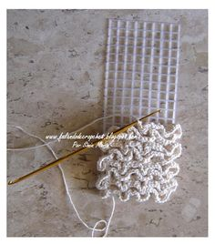 crochet onto plastic canvas - idea for bag....good idea....but, is plastic canvas safe in a clothes dryer if I want to wash it?