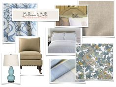 Bellissimo and Bella: A Blue, Cream, and Chinois Master Bedroom