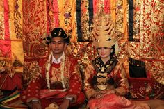 Wedding in mandailing culture