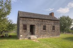 """Nathaniel Rochester House, 1797 Dansville,NY. """"...After five years in Dansville, Col. Rochester moved to a large farm in East Bloomfield, N.Y., and continued his work laying out what would become the Village of Rochester. In 1818, he and his family of 12 children finally moved near the falls into a house with a large garden and grounds sloping down to the river. In 1824, he erected a brick house on higher ground where he resided for the rest of his life."""""""