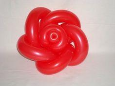 ▶ Como hacer una rosa de globos - Hoy to make a pink balloon flower - YouTube