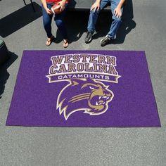 Western Carolina University 5' x 8' Tailgating Area Rug