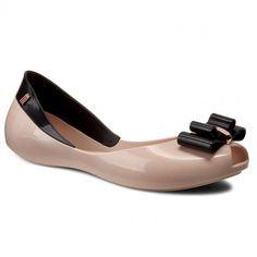 Baleriny MELISSA - Queen V Ad 31818 Pink/Black 52807
