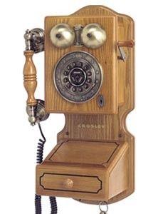 Crosley Country Wall Phone