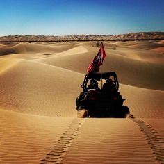 On The Way To Wall Through Newly Opened Dunes Glamis Ca