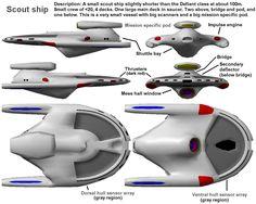 Star Trek Ship Designs | Jpeg version Large image with description (147kb)