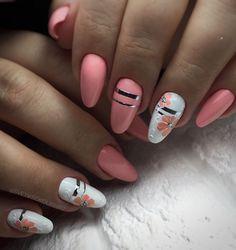 Diy Nails Manicure, Manicure Nail Designs, My Nails, Colorful Nail Designs, Simple Nail Designs, Nail Art Designs, Diy Ongles, Arylic Nails, Fail Nails