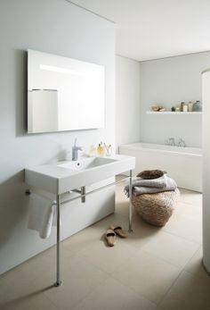Salle-de-bain-ma-sélection-de-lavabo-et-de-douche-lavabo-console-duravit
