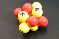 An effective learning method is an interactive hands-on approach to chemistry by crafting models of atoms, in this case sodium., using readily available craft materials. Carbon Atom Model, 3d Atom Model, Atom Model Project, Science Projects, Science Activities, School Projects, Kid Projects, Science Experiments, Apologia Physical Science