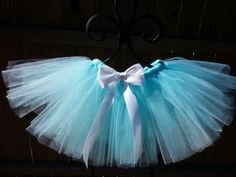Tiffany and Co. Inspired Tutu-Breakfast at Tiffany's-Tiffany Blue-Photography Prop-6 to 12 months on Etsy, $25.00