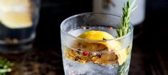 This Charred Lemon, Rosemary and Coriander Gin & Tonic is something special! The flavours are so perfectly balanced. The perfect drink!