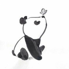 Cute little panda - ideas for drawings - # for . - Cute little panda – ideas for drawings – pie - Disney Art Drawings, Pencil Art Drawings, Art Drawings Sketches, Kawaii Drawings, Easy Drawings, Cute Little Drawings, Simple Animal Drawings, Adorable Drawings, Cute Animal Drawings Kawaii