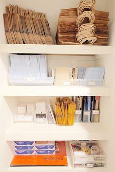 Office closet.