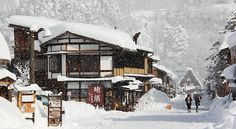 Where to find snow in Japan