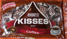Hershey Special Dark Coffee Kisses - I HAVE to have these!!   need to find if they still make these....