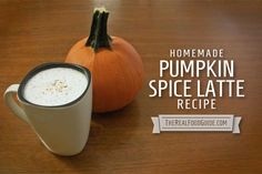 Homemade pumpkin spice latte recipe - The Real Food Guide therealfoodguide.com