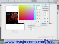 Learn how to set printing options in Adobe Photoshop at www.teachUcomp.com. A clip from Mastering Photoshop Made Easy v. CS5. http://www.teachucomp.com/free - the most comprehensive Photoshop tutorial available. Visit us today!